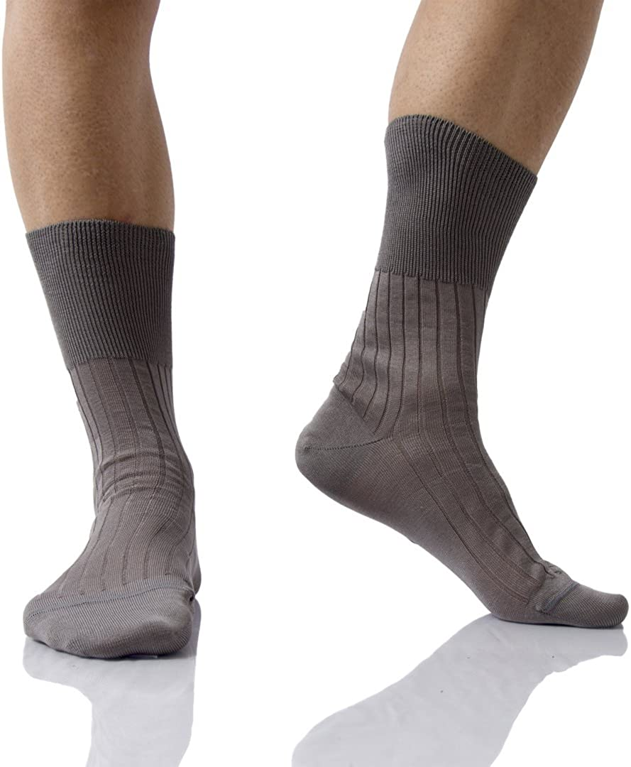 francesi TG Best Calze 6 paia di calza corte uomo sanitarie in cotone filo di scozia Mod 42//44 Sanitario 4//2