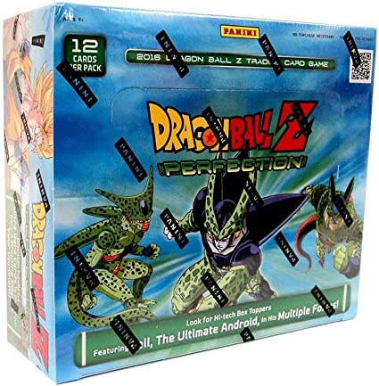 DRAGON BALL Z Evolution Perfection Booster Boxes DBZ Trading Card Game Bundle