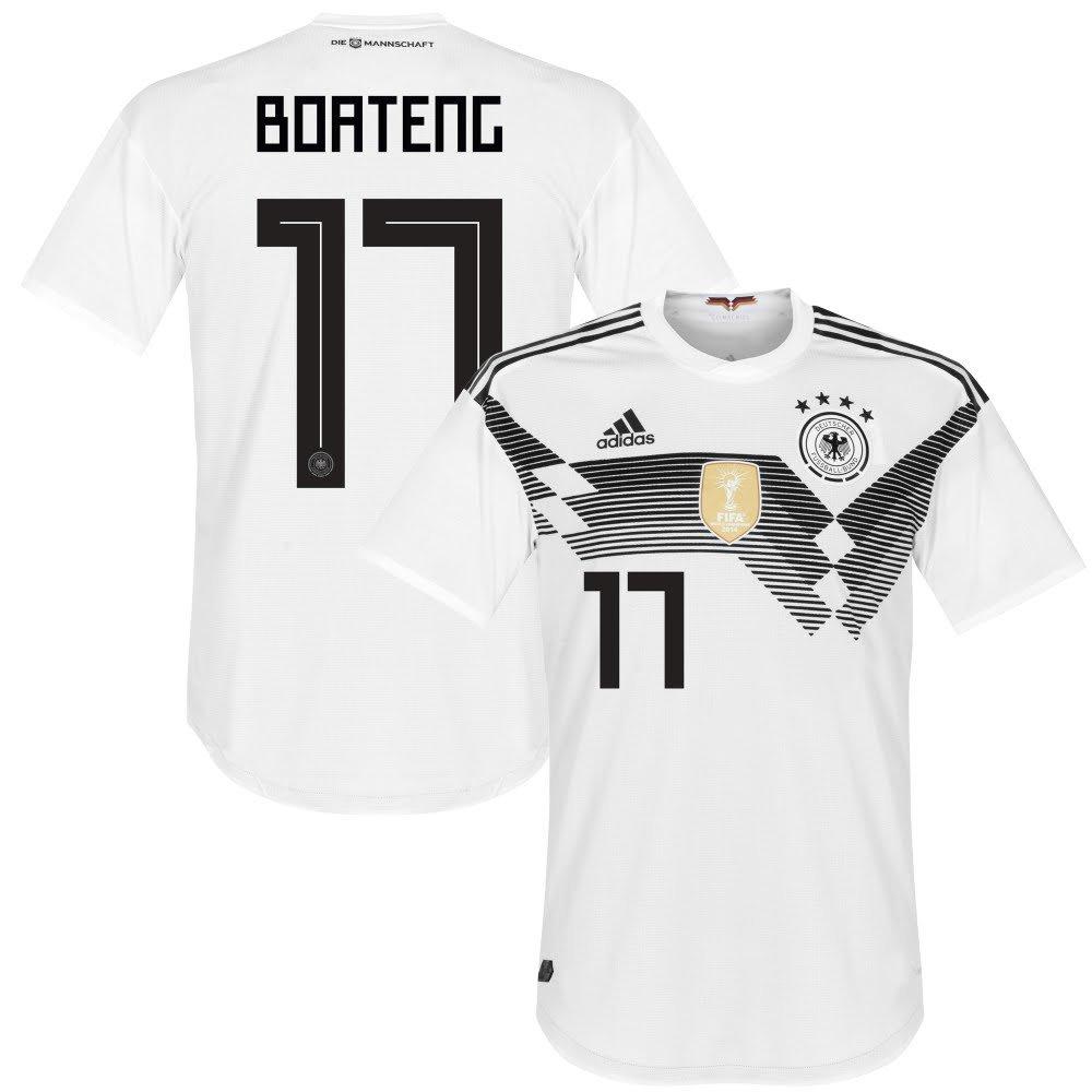 Deutschland Home Trikot 2018 2019 + Boateng 17 - M