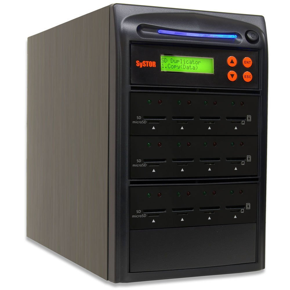 Copier Systor 1 to 39 Multiple SD//Micro SD Drive Memory Card Reader Duplicator SYS-SD-39
