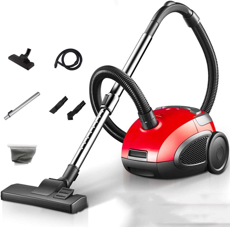 Herramientas de Limpieza Aspirador 1200W hogar portátil de aspiración Horizontal aspiradora de Alta Potencia hogar pequeño Mini (Color : Red, Size : Upgrade): Amazon.es: Hogar