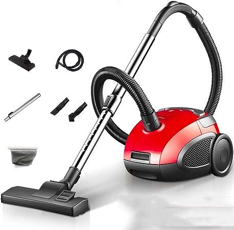 Aspiradora Hogar 1200W hogar portátil de aspiración Horizontal Alta Potencia hogar pequeño Mini (Color : Red, Size : Upgrade): Amazon.es: Hogar