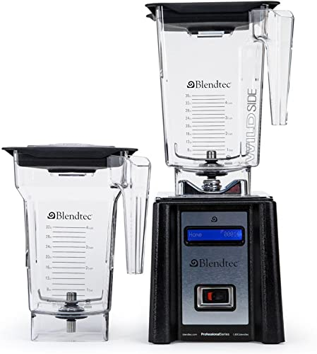 Blendtec 2000123 Blendtec Professional Series WildSide FourSide Black