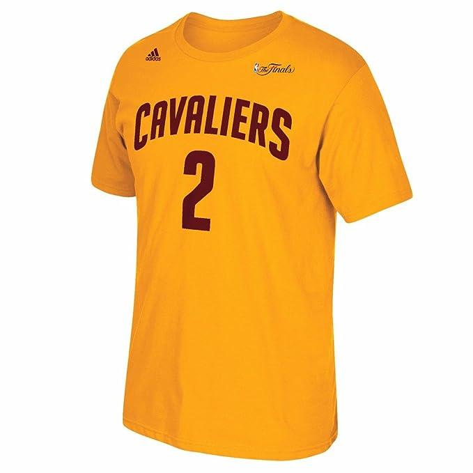 Adidas Kyrie Irving Cleveland Cavaliers NBA Hombres de Oro 2015 Final Jersey Camiseta, XL, Dorado: Amazon.es: Deportes y aire libre