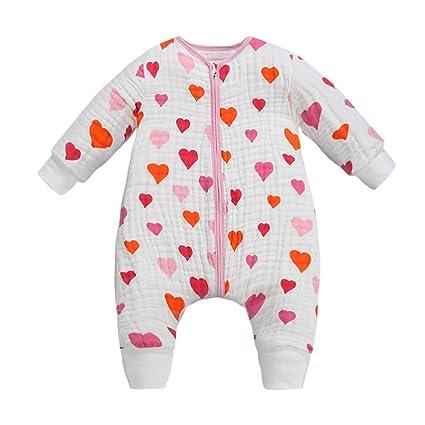 chils uessy Baby fruehling Saco de dormir Otoño Saco de dormir de algodón 100% muselina