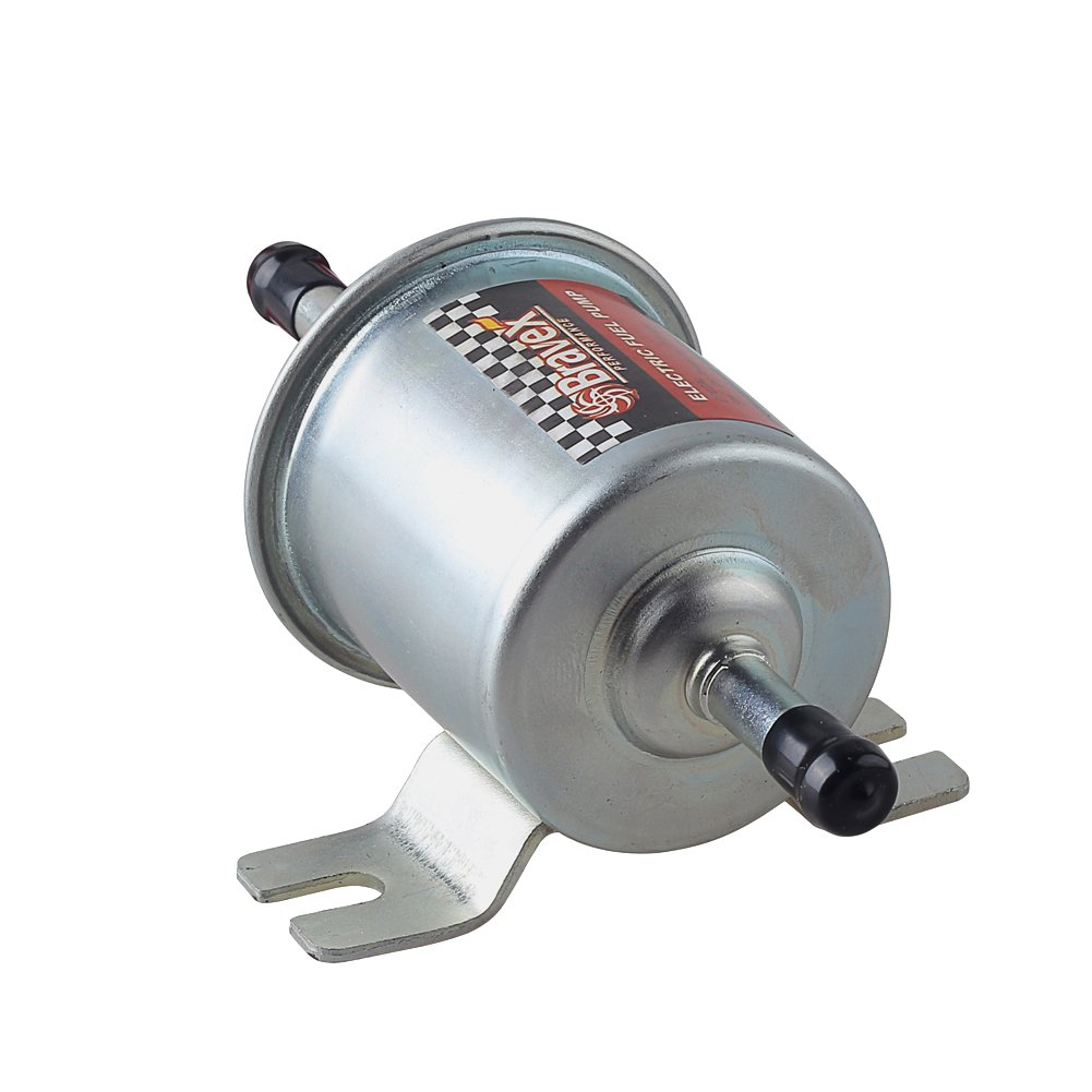 Bravex Universal 12v Low Pressure 25 4 Psi Gas Diesel John Deere 970 Wiring Diagram Inline Electric Fuel Pump Hep 02a Automotive