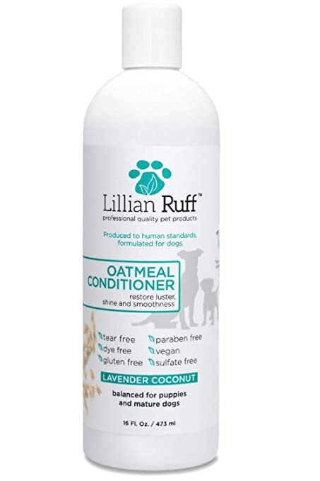 Lillian Ruff Oatmeal Pet Shampoo
