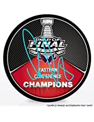 Alex Ovechkin Washington Capitals Autographed 2018 Eastern Conference Champions Hockey Puck - Fanatics Authentic Certified