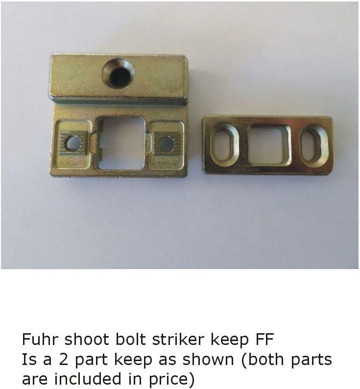 3MDL44 101667 Part FF Fuhr Shoot Bolt Striker Keep Plate