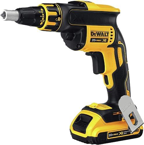 DEWALT 20V MAX XR Drywall Screw Gun, Tool Only DCF620B