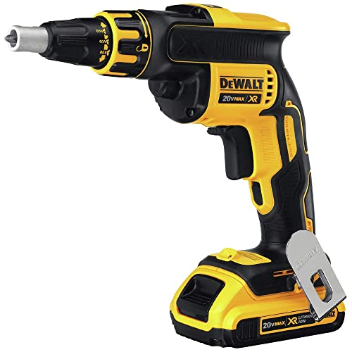 Dewalt DCF620D2R 20V MAX XR Cordless Lithium-Ion Brushless Drywall Screwgun Kit Renewed