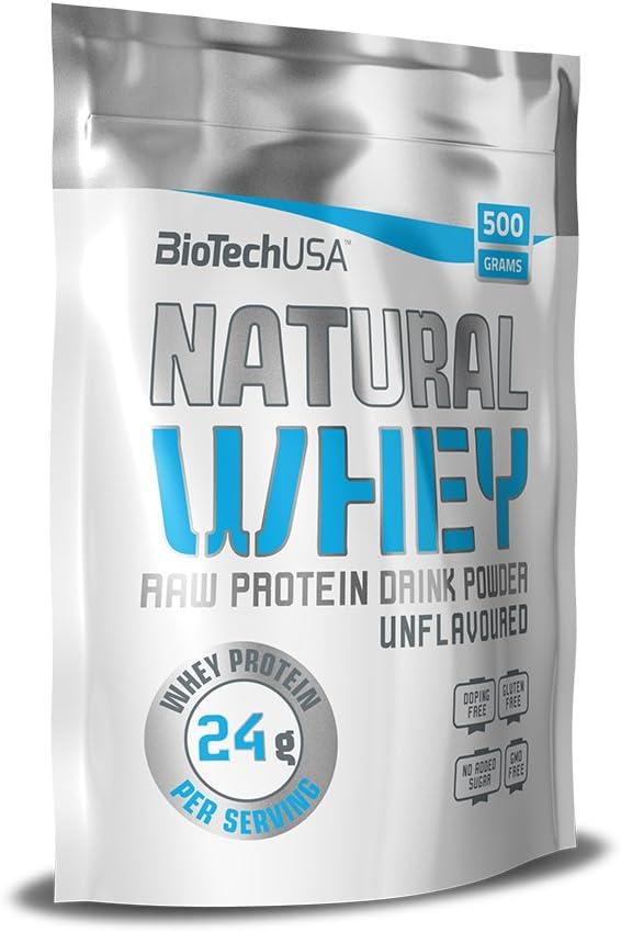 Biotech USA Natural Whey Proteínas - 500 gr