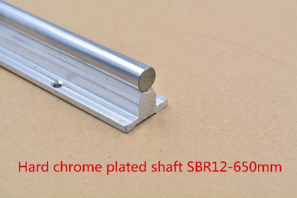 Impresora 3D - SBR12 barra guía lineal longitud 650 mm chapado en ...