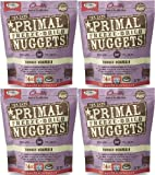 Primal Freeze-Dried Nuggets Turkey Formula for Cats 56oz (4 x 14oz)