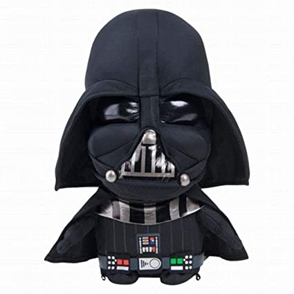 Amazon Com Star Wars Talking 12 Darth Vader Plush Stuffed Pal