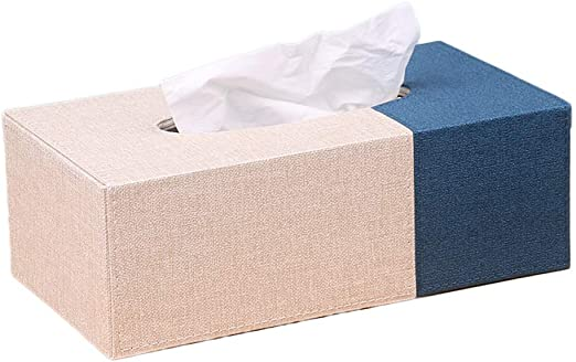 MJ-Brand Caja de pañuelos Caja de Papel del hogar Creativo ...