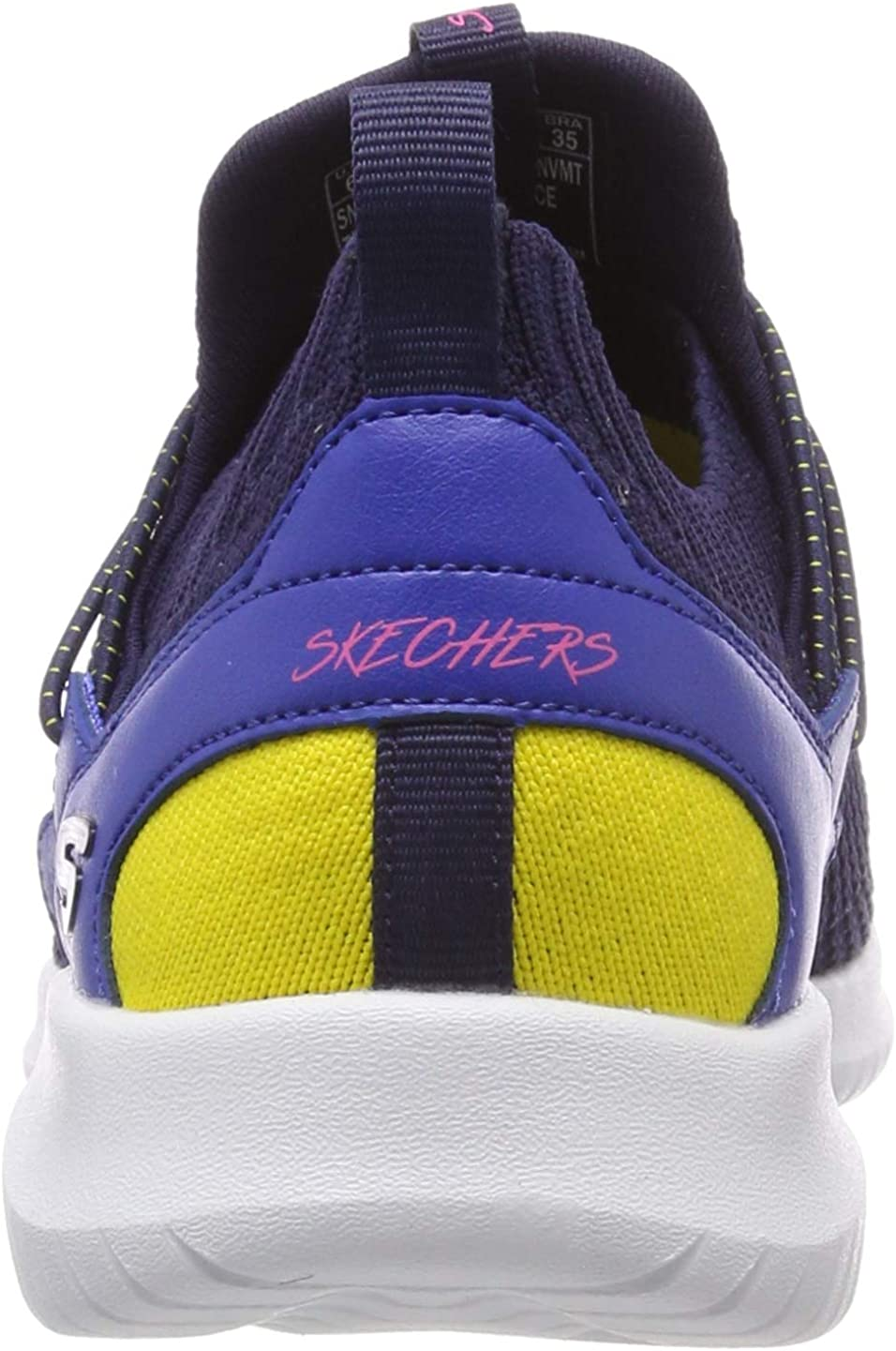 Skechers Ultra Flex-More Tranquility, Scarpe da Ginnastica Donna Blu Navy Mint Nvmt tQo7uN