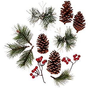 Factory Direct Craft Package of Holiday Decor Motif for Creating Focals, Centerpieces, and Displays 15