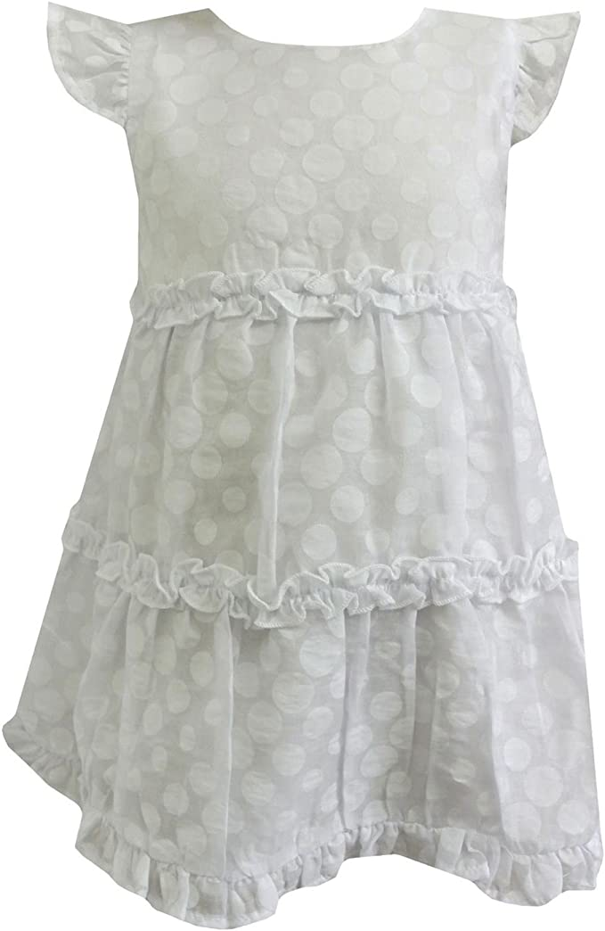 Salt And Pepper Festliches Baby Madchen Kleid Bodykleid Gepunktet Weiss 73220285 Amazon De Bekleidung