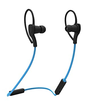 Kobwa impermeable auricular inalámbrico de auriculares Bluetooth a prueba de sudor deporte running auriculares HD auriculares estéreo con micrófono ...