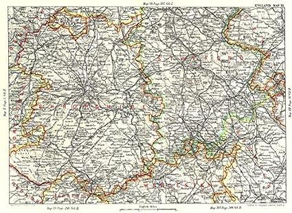Amazon.com: SHROPSHIRE & SOUTH STAFFORDSHIRE. West Midlands ...