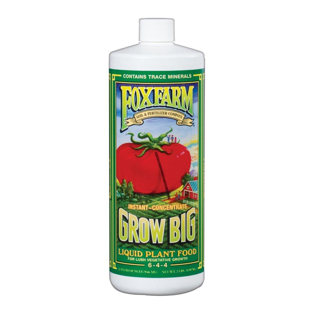 Fox Farm Liquid Nutrient Trio Soil Formula: Big Bloom, Grow Big, Tiger Bloom (Pack of 3 - 32 oz. bottles) 1 Quart Each + Twin Canaries Chart & Pipette by Fox Farm (Image #4)