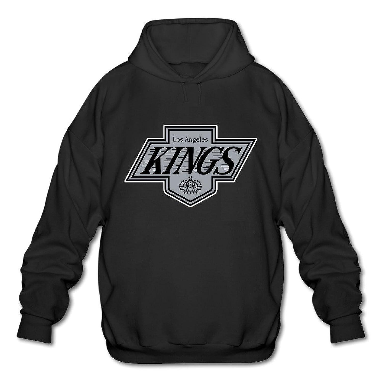 well-wreapped Los Angeles Kings Ice Hockey Team Men's Cool Hooded Sweatshirt