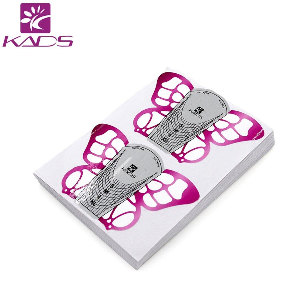 KADS 500 pièces chablons papier construction faux ongles gel uv ou resine KADS Co. Ltd