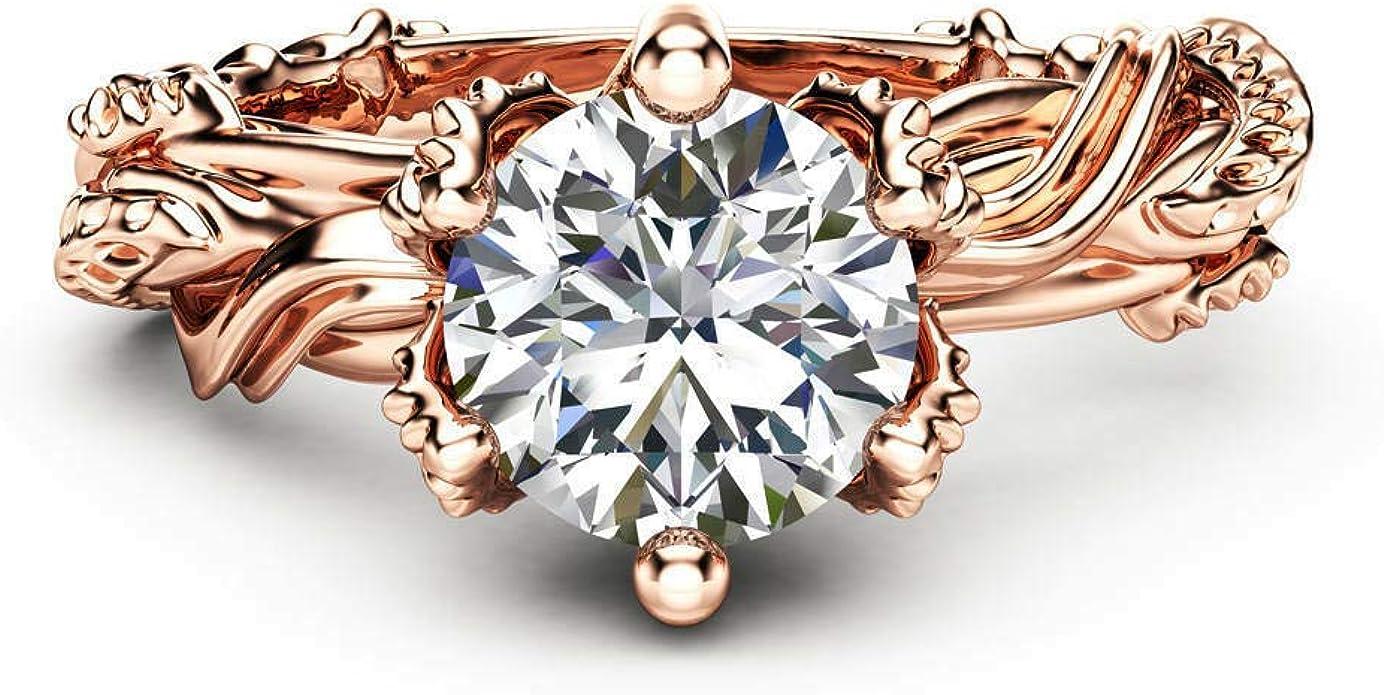 Gorgeous  Jewelry Women/'s Wedding Rings White Sapphire Size 6-10