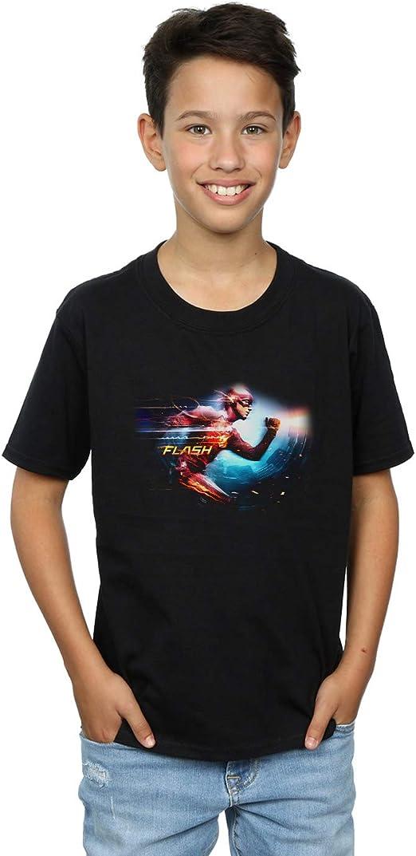 DC Comics Niños The Flash Sparks Camiseta: Amazon.es: Ropa y accesorios