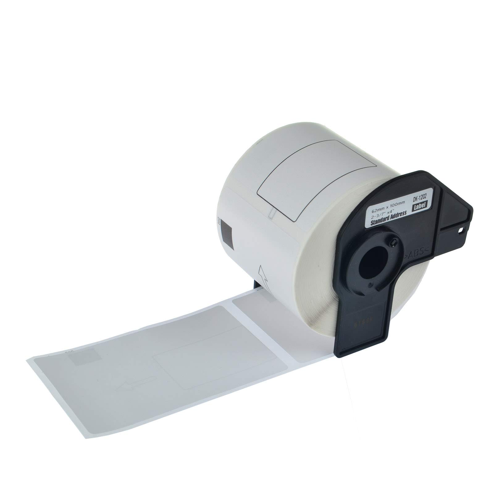KCYMTONER 6 Rolls DK-1202 Compatible Continuous Paper Labels 2-3/7 Inches (62mm) by 100mm (4''), BPA Free, Strong Adhesive, Use in Brother P-Touch QL-500 QL-710W QL-1050 QL-1050N QL-1060N and More by KCYMTONER (Image #3)
