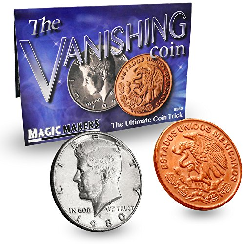 The Vanishing Coin - Ultimate Coin Magic Kit  by Magic Maker