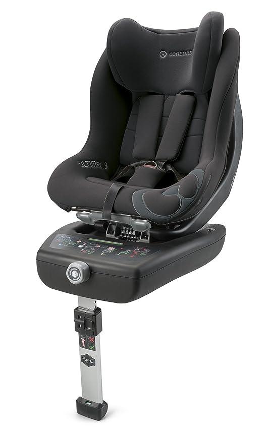Concord Ultimax, Silla de coche grupo 0+/1 Isofix, negro (Raven Black)