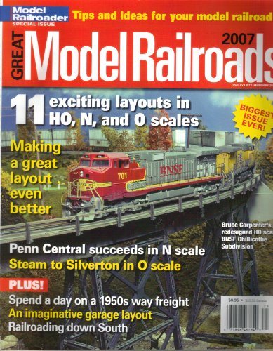 8685 Models - Great Model Railroads 2007, Model Railroader Special Issue Magazine (ISSN 1048-8685)