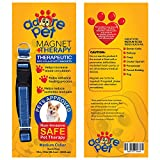 BEST Pain Relief Therapy Dog Collar with Magnets f...