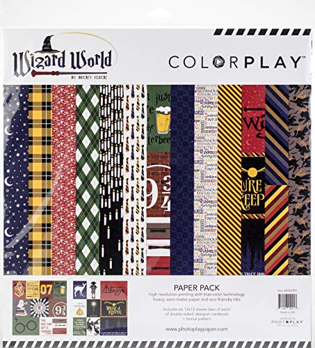 Photoplay Paper WW2991 ColorPlay Collection Pack 12