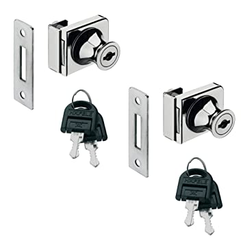 1pieza gedotec® Juego de muebles Candado Cilindro de cerradura escayola- Cerradura para puerta de