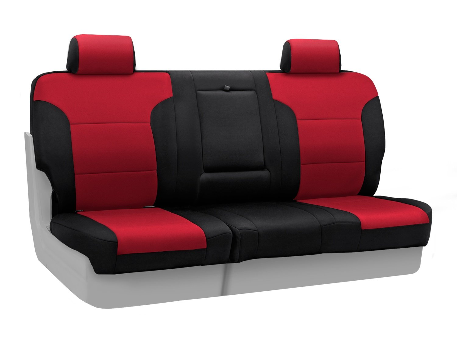 Black Neosupreme Solid Coverking Custom Fit Front 50//50 Bucket Seat Cover for Select Ford F-Series Models