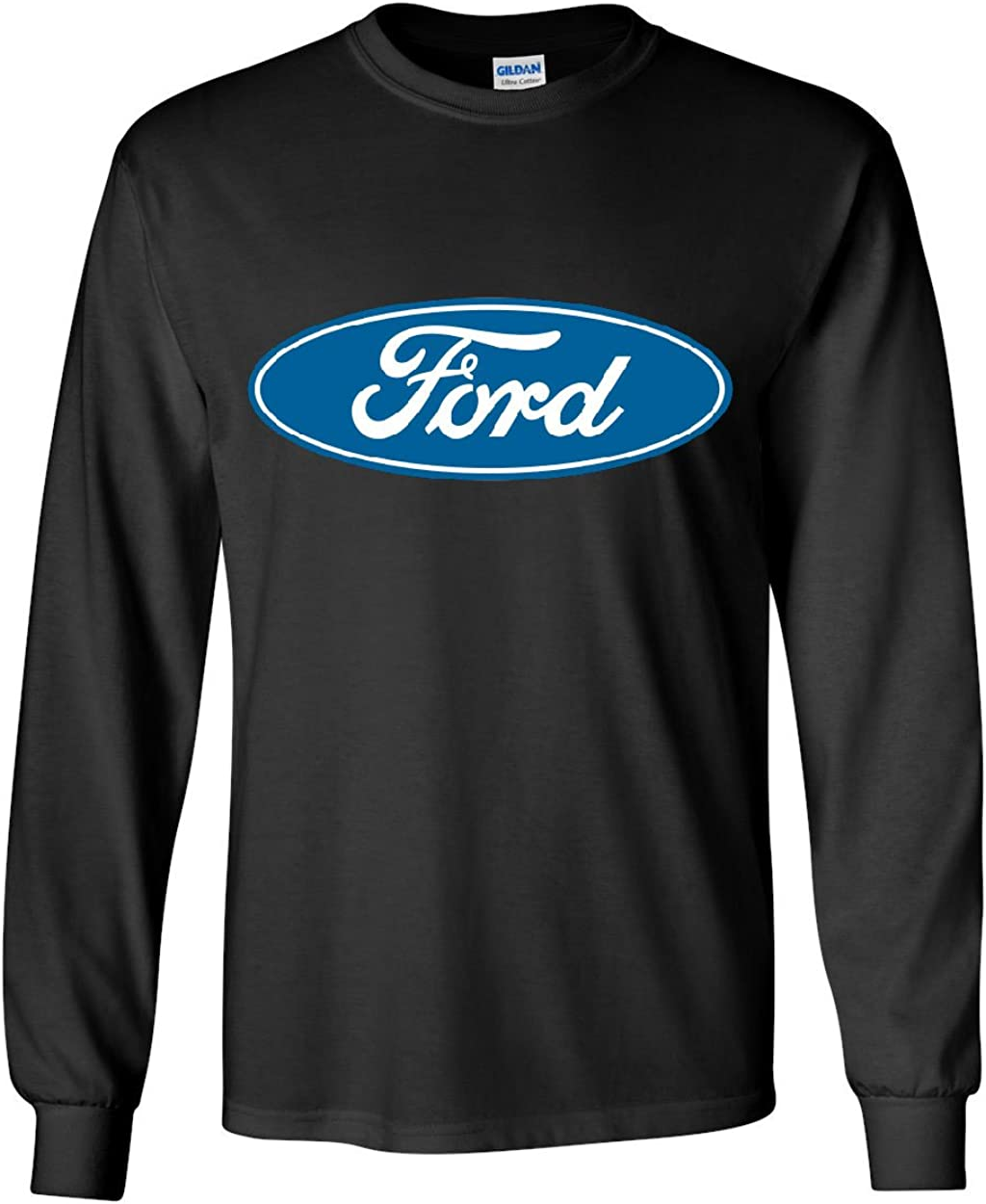 S-5XL FORD Logo T-Shirt CLASSIC Mustang F-150 Truck Car Automotive Tee New