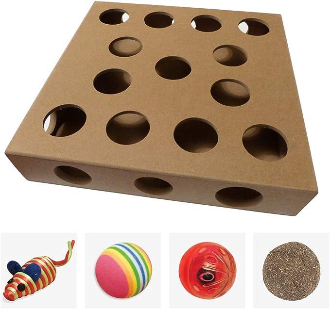 Diseño único, Caja de Juguete Interactiva Tipo Puzle de Interior ...