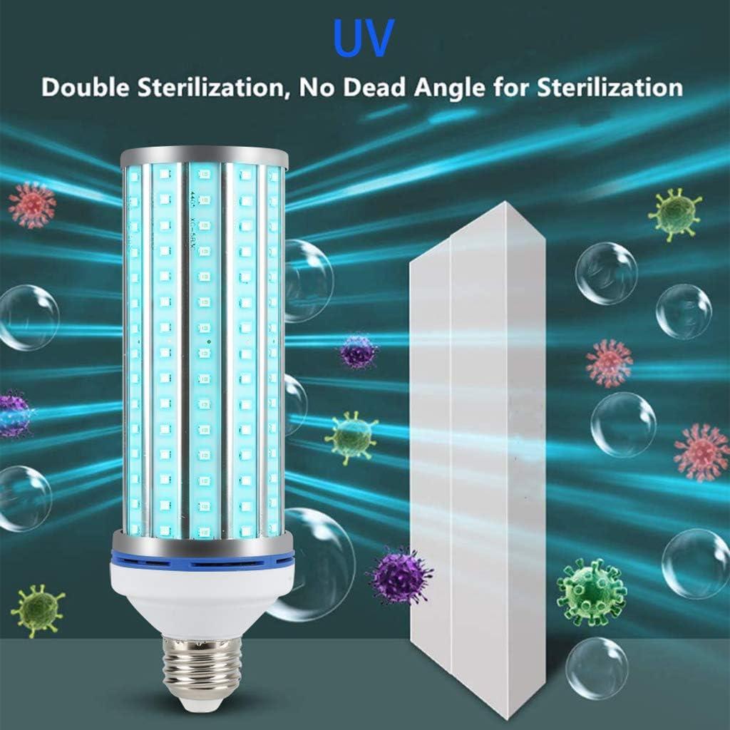 LOVIVER UV 100W L/ámpara Germicida E27 Luz Ultravioleta De Esterilizaci/ón UVC 220V