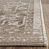 Safavieh Artisan Collection ATN318P Vintage Oriental Brown and Ivory Distressed Area Rug (3′ x 5′) Review