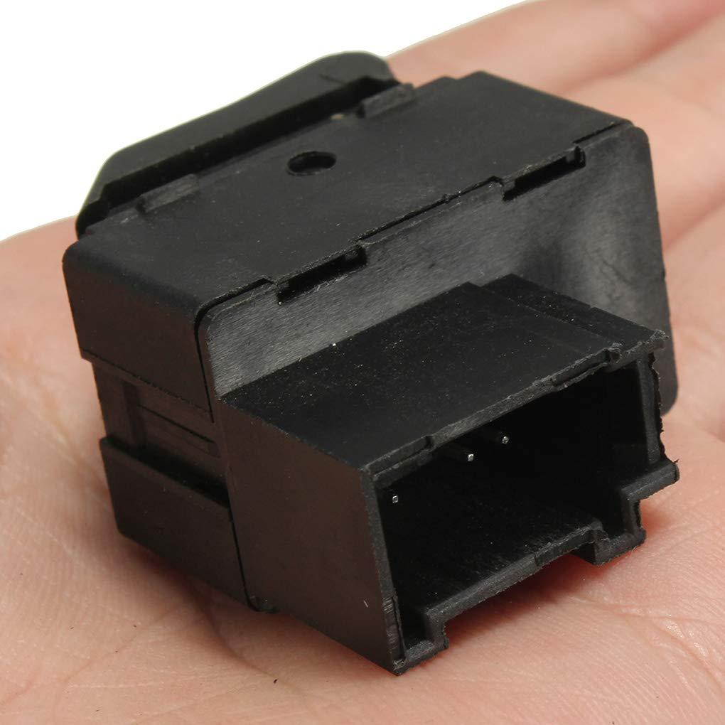 Lorsoul Universal Voiture /électrique fen/être de Commande de Remplacement de commutateur pour Polo Lupo Bouton de Commande Unique 6X0959855B