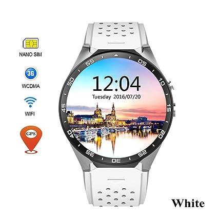 JingJingQi Reloj Inteligente Sostener Mi KW88 Android 5.1 OS ...