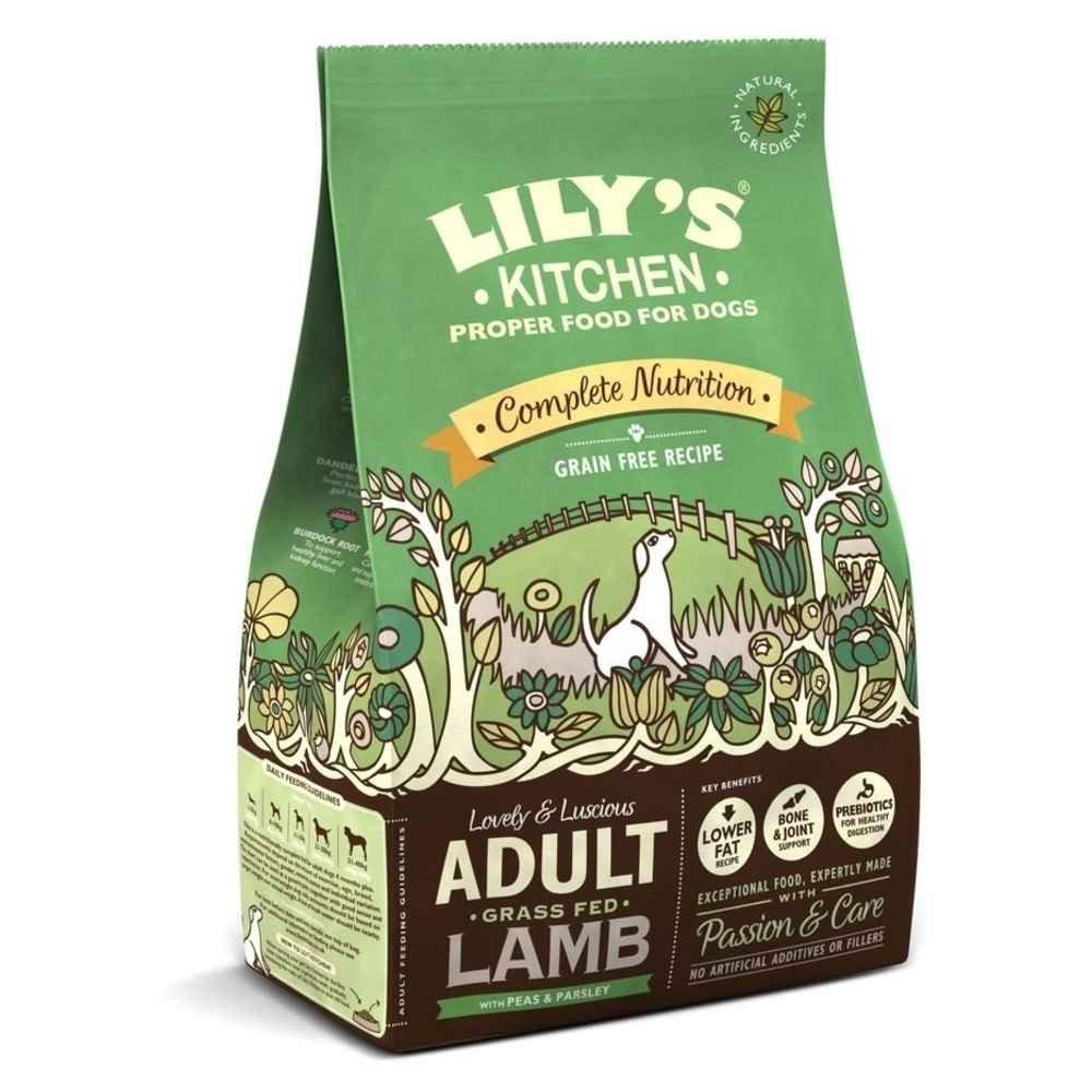 Amazon.com : Lily\'s Kitchen Proper Dry Dog Food Organic Chicken ...
