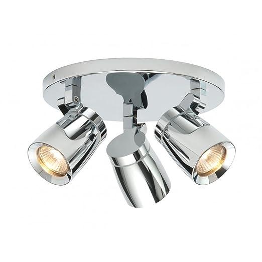 Saxby lighting knight triple ip44 35w bathroom spotlight saxby lighting knight triple ip44 35w bathroom spotlight spotlighting 39167 aloadofball Images