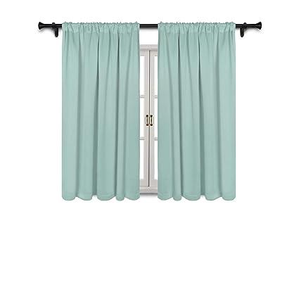 Amazon Com Suo Ai Textile Thermal Insulated Curtain Rod Pocket