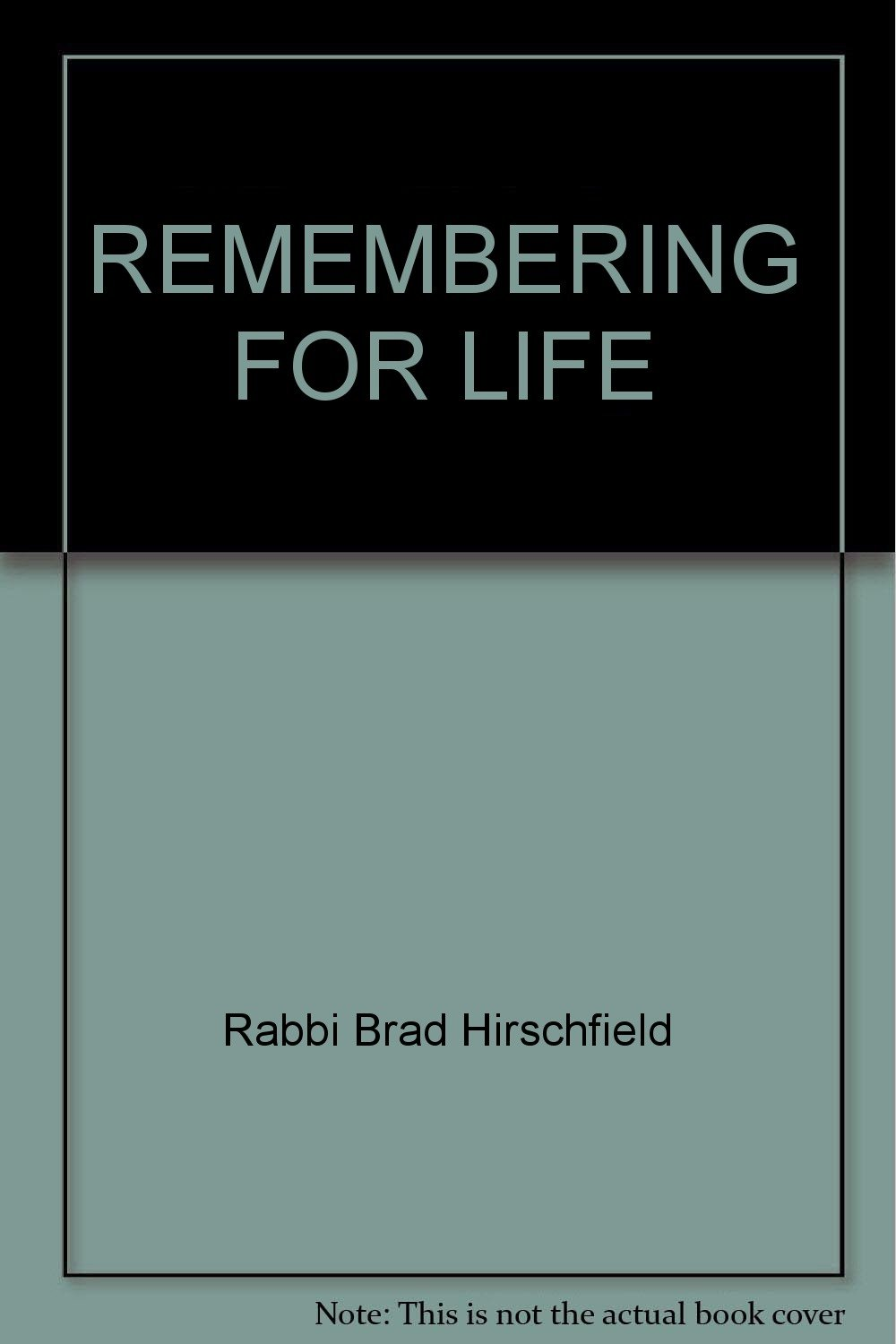 Remembering for Life ebook