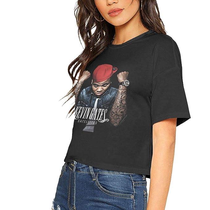 Amazon.com: Camiseta clásica de manga corta para mujer Kevin ...