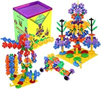 CoolFlakes Creative and Educational Interlocking Flakes With Included Building Base and Gears (Deluxe Box) from CoolToys